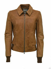GIACCA GIUBBINO VERA PELLE DONNA ELISA WOMAN REAL LEATHER JACKET