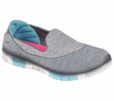 SCARPE SKECHERS PERFORMANCE GO FLEX WALK W donna mocassino grigio 14010 CCBL