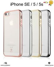 FUNDA CARCASA BASEUS SHINNING ORIGINAL DE PC FLEXIBLE PARA IPHONE SE / 5 / 5S