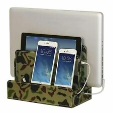 G.U.S. Camo Multi-Device Charging Station for Smartphones, Tablet and Laptop