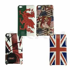 Union Jack Wales Flag Hard Back Case Cover For Apple iPod Touch 4 4th Genration