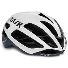 KASK Protone Performance Road Cycling Helmet - White/Navy Blue (2016)