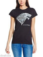 T-shirt Game of Thrones Chrome Stark Sigil maglia donna ufficiale HBO