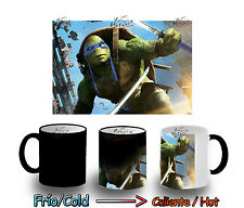 TAZA MAGICA LEONARDO NINJA TURTLES MAGIC MUG tasse es