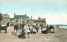 Galway Fish Square old Irish Photo Print - Size Selectable