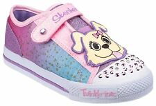 Skechers TwinkToes Shuffles-Play Dates Child Girls Shoes