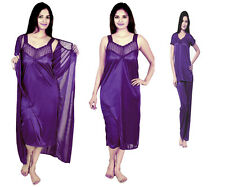 @Rk Hot Women 4 PC nighty with top &Pajama ,Night suits,night wear for ladies