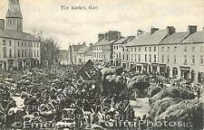 Galway Gort Market Day old Irish Photo Print - Size Selectable