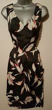 BNWT NEXT Blue White Red Floral Layered Wrap Skirt Dress 10 Tall £60