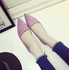 Zafraa Imported Korean Ladies Womens Bellies Ballerinas Flat Casual Shoes point