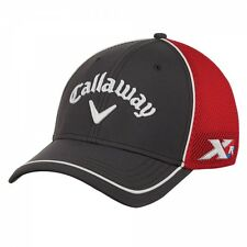 Callaway XR Fitted Mesh Cap - Tour Authentic Grey/Red