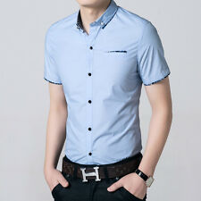 Mens Formal Business Workplace Casual Shirt Imported Shirt floral type thin