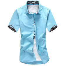 Mens Formal Business Workplace Casual Shirt Imported Shirt Korean cultivating t