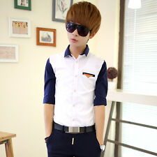 Mens Formal Business Workplace Casual Shirt Imported Shirt of the thin