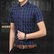 Mens Formal Business Workplace Casual Shirt Imported Shirt shirts summer thin