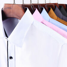 Mens Formal Business Workplace Casual Shirt Imported Shirt day long sleeved
