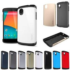 Slim Fit Armor Dual Layer Bumper cum Back Case LG Google Nexus 5