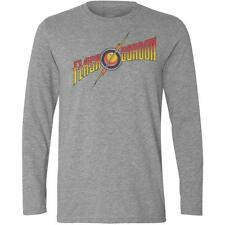 Long Sleeve Grey T-Shirt with FLASH GORDON design - big bang theory film movie