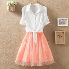 Rain snow butterfly dress Korean version of spring and summer fresh small fresh