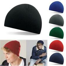 New Men Knit Baggy Beanie Oversize Winter Warm Hat Ski Slouchy Skull Cap Hats