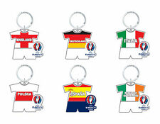 UEFA Euro 2016 France Official Keyring - England Poland Spain Italy Ireland and.