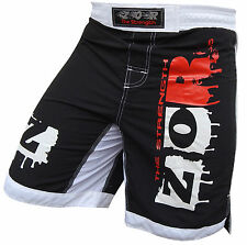 ZOR xTreme MMA Fight Shorts UFC Cage Fight Grappling Muay Thai Boxing (S-2XL)