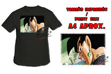 MAGLIETTA BLACK GOKU FACE DRAGON BALL SUPER NERO tshirt custom ITALY