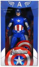 MARVEL The Avengers Captain America 1/4 Capitan Steve Rogers Action Figure NECA
