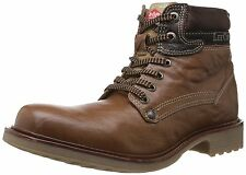 Lee Cooper Men's Leather Boots LC2018 TAN