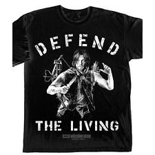 The Walking Dead T-Shirt Daryl Dixon Kult Defend The Living
