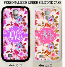 SHABBY CHIC VINTAGE ROSES MONOGRAM PHONE Case For Samsung Galaxy S7 EDGE NOTE 5