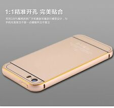 iphone 5 5s Metal Aluminum Full Protective Back Case for Apple iphone 5 5S