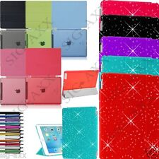 New Bling Magnetic Smart Stand Leather Case Cover For APPLE iPad Air 4 3 2 Mini