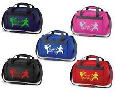 PERSONALISED PRINTED HOLDALL WITH KARATE DESIGN - Taekwondo gi pads Bag