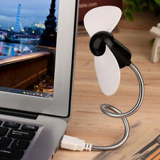 Flexible Portable USB Mini Cooling Fan Cooler for Laptop Desktop PC Computer