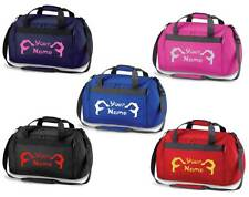 Personalised Printed Gymnastics Holdall /Costume Bag - leotard shoes rings GY8