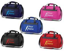Personalised Printed Gymnastics Holdall /Costume Bag - leotard shoes rings GY7