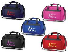 Personalised Printed Gymnastics Holdall /Costume Bag - leotard shoes rings GY1