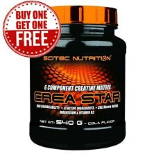 Scitec Nutrition Crea Star 270g 540g Complex Pre-Workout Stimulant with Creatine