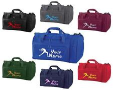 PERSONALISED PRINTED HOLDALL WITH ICE SKATING DESIGN -bag leotard Boot ICE4