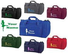 PERSONALISED PRINTED HOLDALL WITH IRISH DANCING DESIGN -bag dress shoes IR4