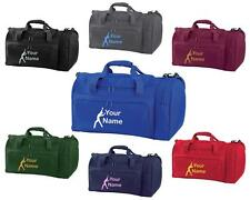 PERSONALISED PRINTED HOLDALL WITH GYMNASTICS DESIGN -bag sack leotard shoe GYM7