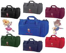 PERSONALISED EMBROIDERED BALLET 2 HOLDALL- pe kit swim gym sports bag kids Dance