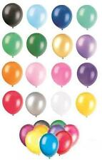 """15 x 12"""" Latex Balloons (Party Decorations) LARGE RANGE OF COLOURS"""