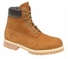 Timberland 6' Premium 72066 Rust Orange Mens Leather Boots Size 6 7 8 9 10 11 12