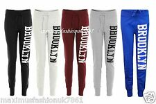 Ladies Jogging Bottom Joggers Track Pants Women Brooklyn Gym Sweat Trousers 8-14