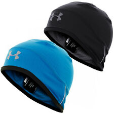 Under Armour 2016 Mens UA ColdGear Infrared Run Beanie Thermal Hat