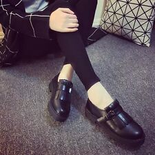 Japanese small round leather shoes Oxford shoes in Europe and America Institute