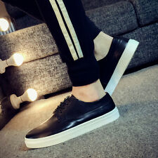 2016 spring new large size men's casual shoes, White
