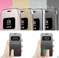For LG G5 Quick Smart View Luxury PU Leather Sensor Flip cover For G5 F700 H860